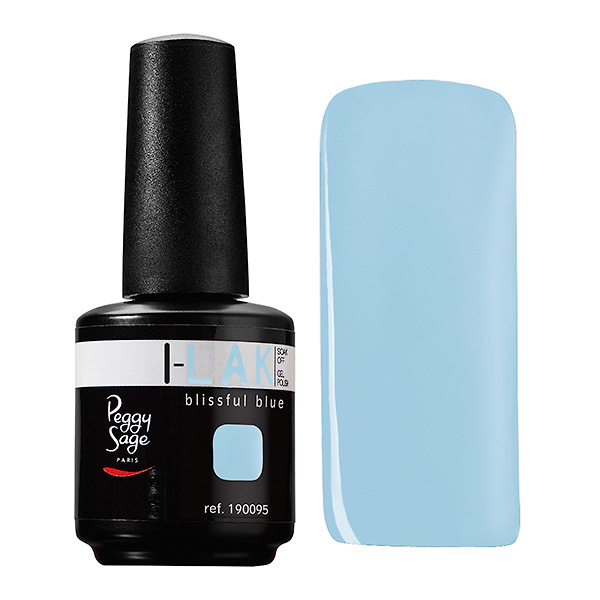 I-LAK leoldható gél lakk blissful blue, 15 ml
